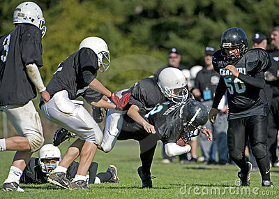 American football 10 Editorial Stock Photo