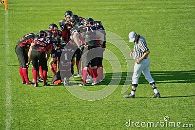 American Football Editorial Photo