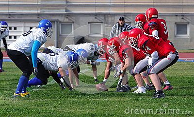 American Football Editorial Stock Photo