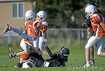 American football action Editorial Image