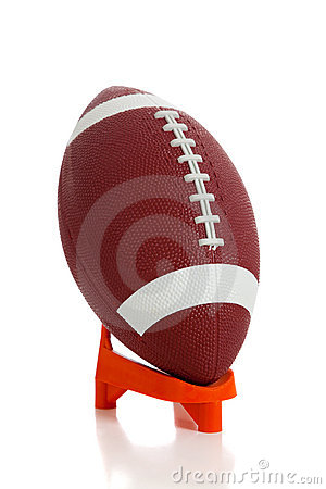 Free American Football And Tee Royalty Free Stock Photo - 10751185