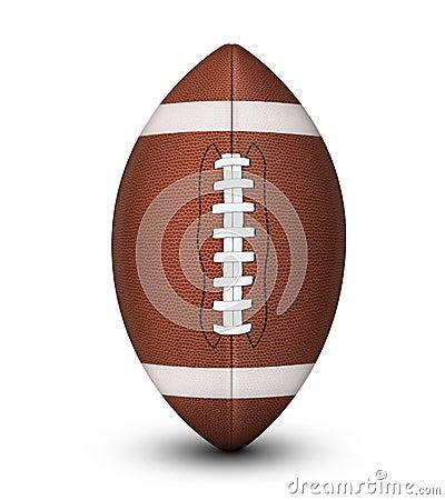 Free American Football Ball Royalty Free Stock Photos - 47587128