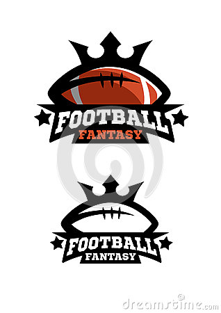 Free American Football Fantsy. Two Options. Stock Photography - 89304402