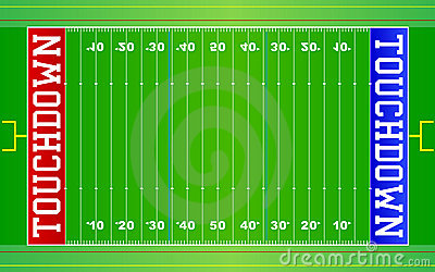 American Football Field NFL EPS