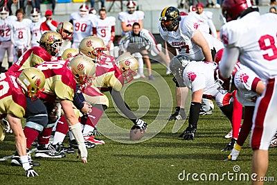 American football game Editorial Photo