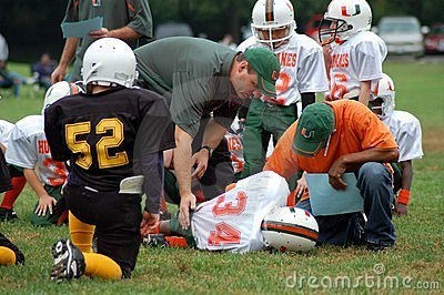 American Football Game Editorial Stock Photo