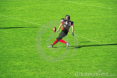 American Football in Germany Editorial Image