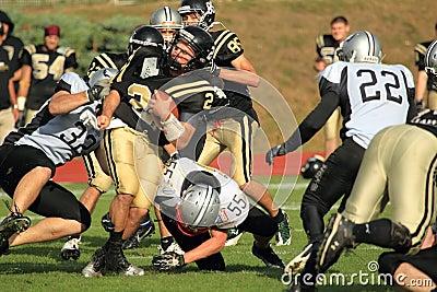 American football struggle Editorial Photography