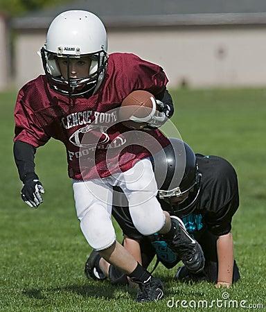 Free American Football Tackle In His Wake Stock Photo - 11323410