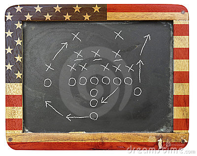 American football tactic