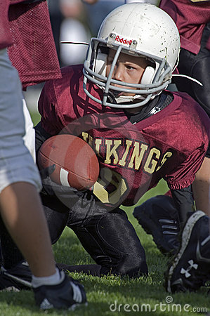 American Football Youth Editorial Stock Image