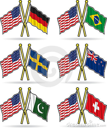 American Friendship Flags