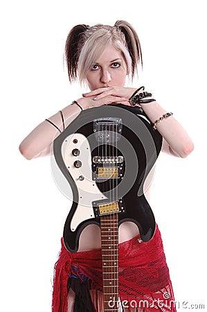 American Goth Guitar