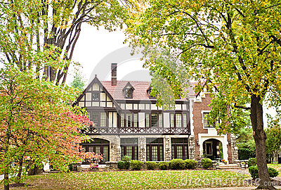 American Home: Bravarian-Style Mansion