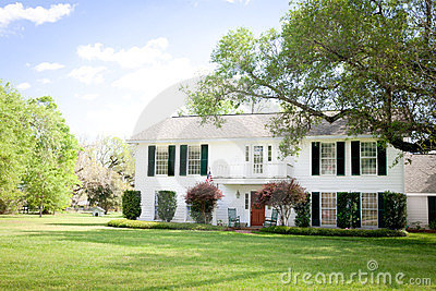 American Home: Southern-Style Mansion