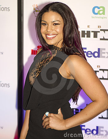 American Idol Singer Jordin Sparks Editorial Photo