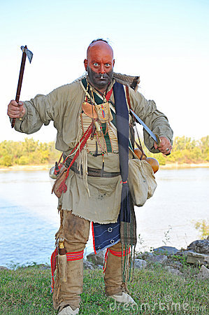 Free American Indian Attacking Stock Photos - 6898653