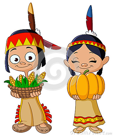 Free American Indian Children Stock Photos - 34666453