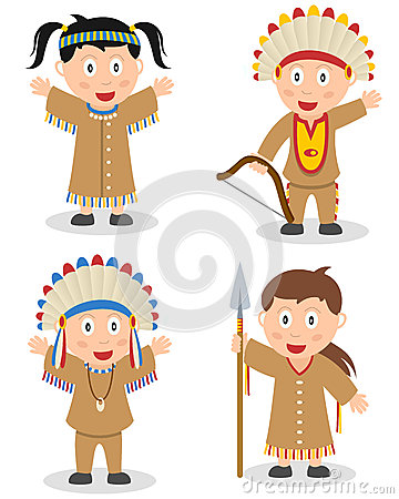American Indian Kids Collection