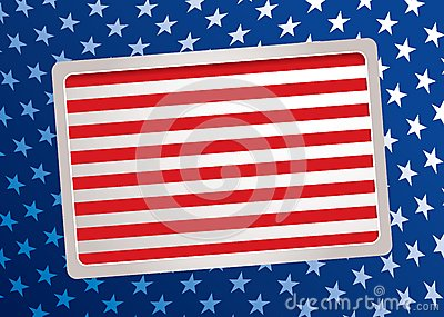 American Inspired Background Royalty Free Stock Photography - Image: 15172227