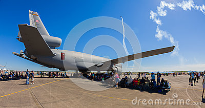 American KC-10 Extender jet airplane Editorial Photography