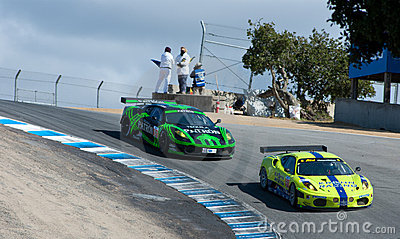 American Le Mans Series Monterey Editorial Stock Photo