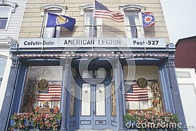 American Legion Post 527 Editorial Stock Photo