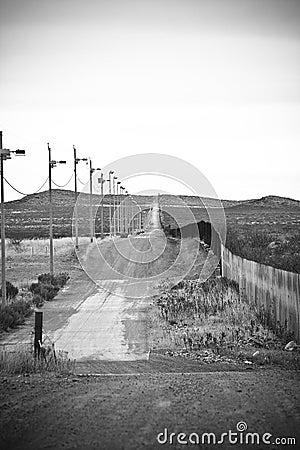 American/Mexican border