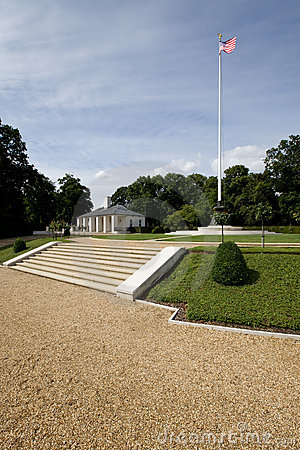 American Military War Cemetery Royalty Free Stock Images - Image: 10367839