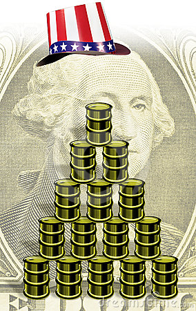 American money and oil