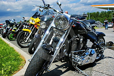 American motobike Editorial Photo