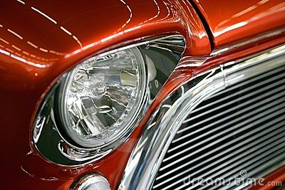 American Muscle car grill