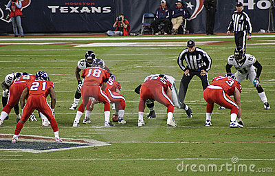 American NFL Football Players Editorial Photo