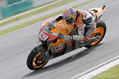 American Nicky Hayden of Repsol Honda Team Editorial Photography