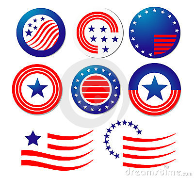 American Symbols Of Patriotism Patriotic Symbols Stock Photos