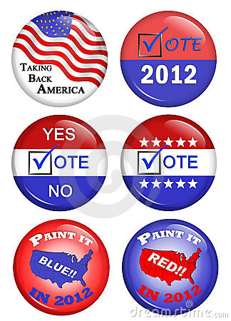 American Political Campaign Buttons