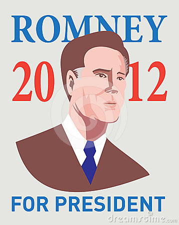 American Presidential Candidate Mitt Romney Editorial Stock Photo