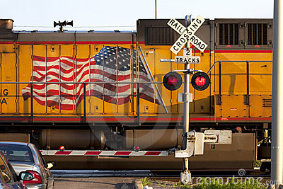 American Railroad Crossing