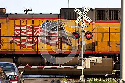 American Railroad Crossing