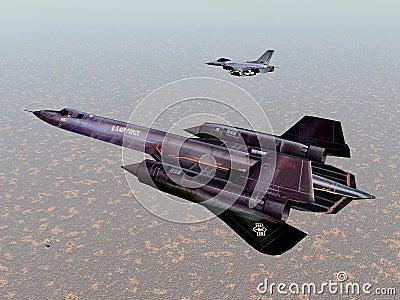 American Reconnaissance Aircraft