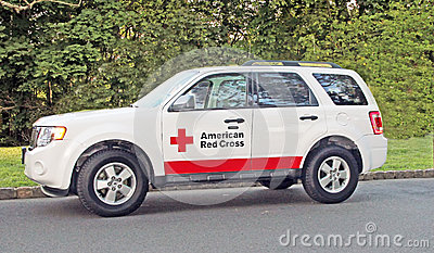 American Red Cross Editorial Stock Image