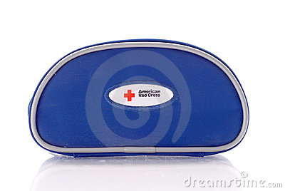 American Red Cross ER Kit Editorial Photo