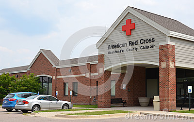 American Red Cross Washtenaw County Chapter Editorial Photo