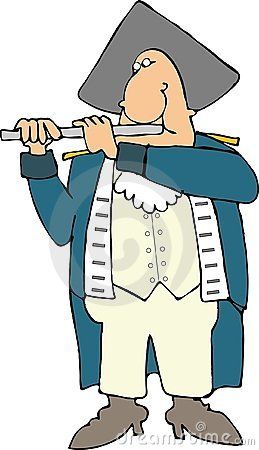 American revolutionary war piper
