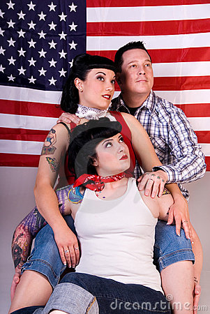 American Rockabilly firends.