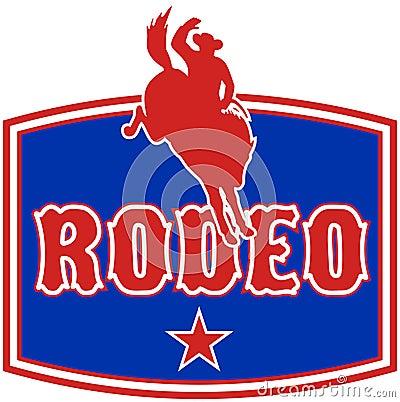 American Rodeo Cowboy horse