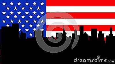 American skyline