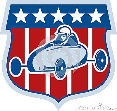 American Soap box derby car