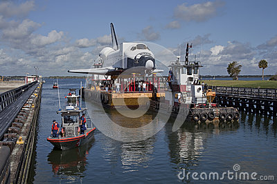 American Space Shuttle Editorial Stock Photo