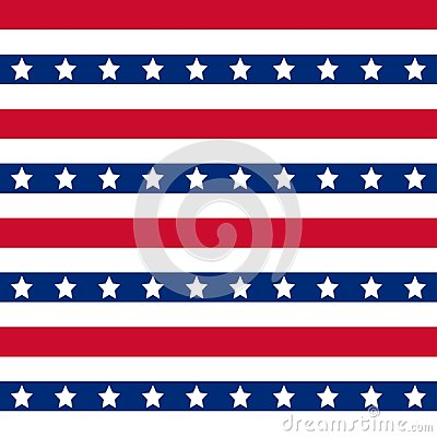 Free American Stars And Stripes Seamless Pattern Stock Image - 116969381